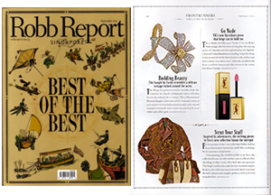 Robb Report Singapore September forms hk
